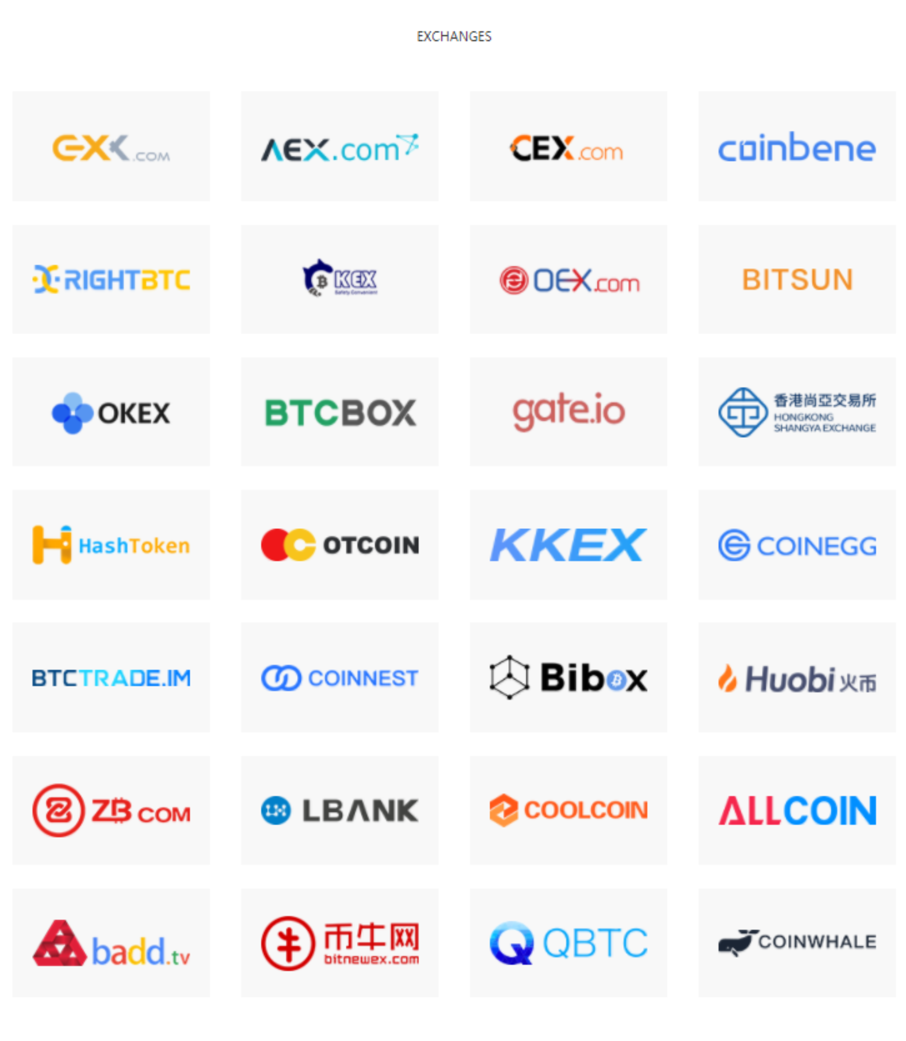 what is oex cryptocurrency market