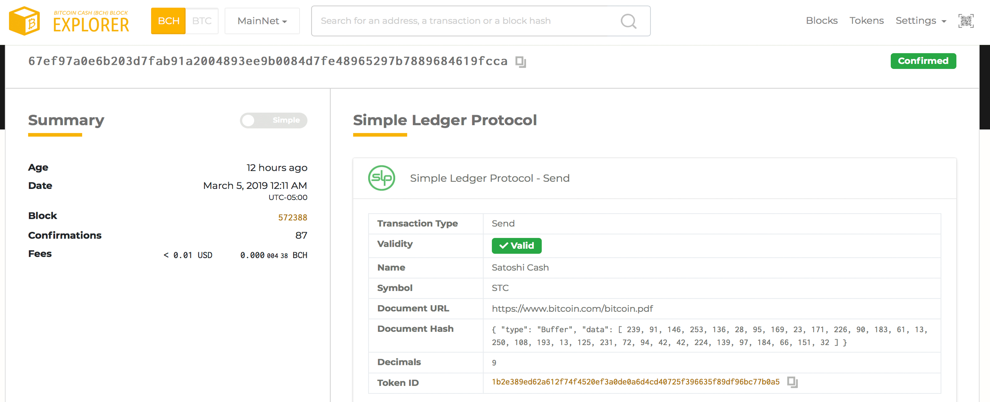 How to Create Your Own SLP Token Using the Bitcoin Cash Blockchain